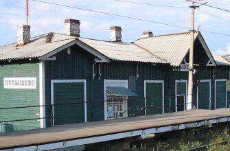 железнодорожная станция Пупышево