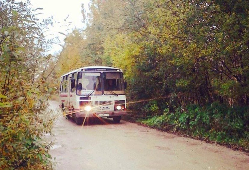 Рейсовый автобус по Пупышево от ж/д станции и обратно